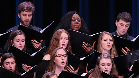 The Concert Choir of Georgetown University