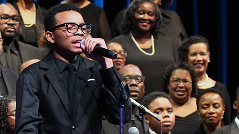 Washington Performing Arts Gospel Choir