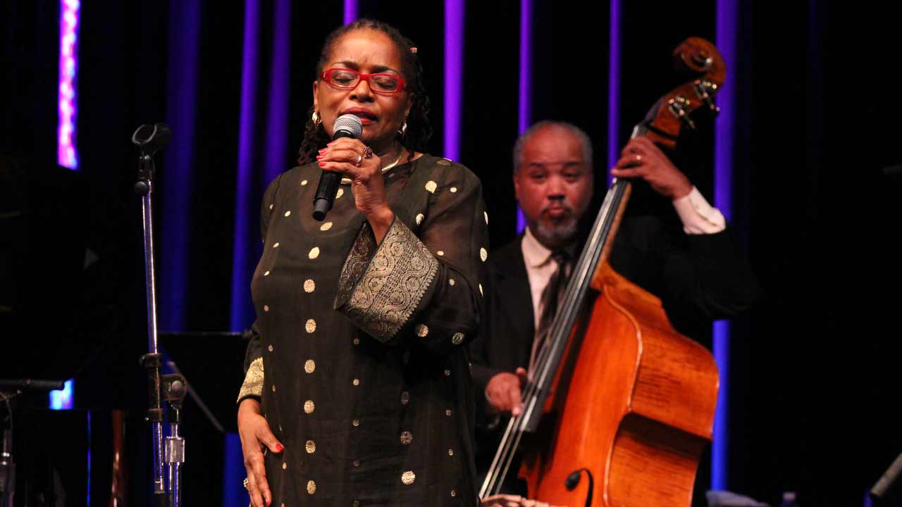 DC Jazz Festival: Davey Yarborough and Esther Williams