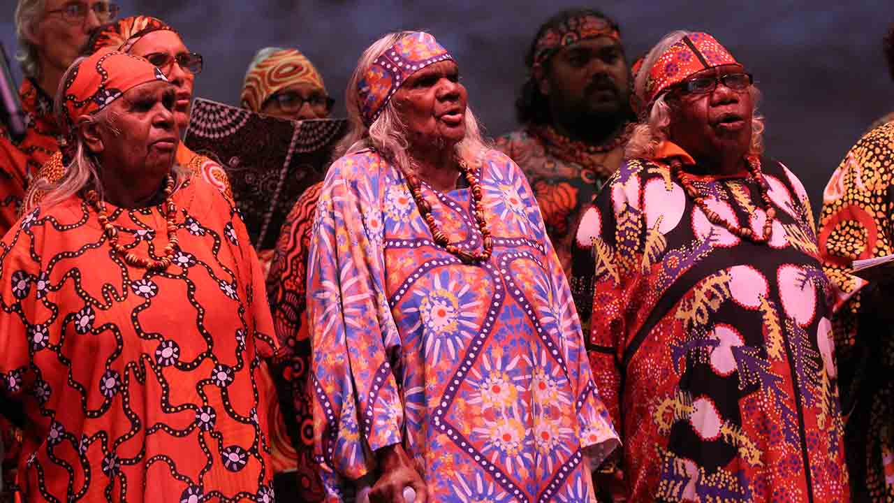 <em>Serenade!</em>&nbsp;Choral Festival: Central Australian Aboriginal Women's Choir &amp;&nbsp; the&nbsp;Indonesian Children and Youth Choir &ndash; Cordana