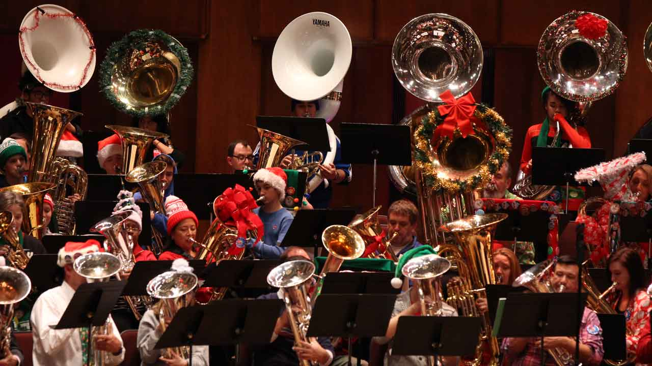 Target Family Night: MERRY TUBACHRISTMAS!